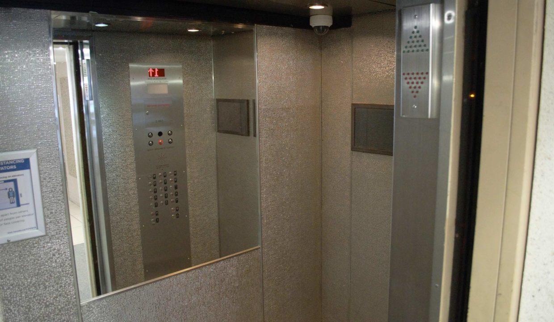 Rose Park - Elevator cab interior